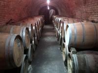 Weinkeller mit Barriqufässer