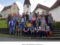 Besuch SZ Schloss Seggau 2014 Gruppenfoto
