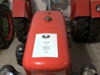 Einer der zwei OÖ Traktoren der Firma Jessernigg