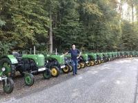 Stainz Traktoren für Ausfahrt bereit