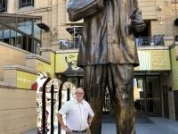 2018 10 21 Johannesburg Nelson Mandela Statue am Square