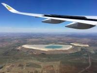 2018 10 21 Landung in Johannesburg