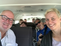 2018 10 25 Flug ins Okawango Delta Unsere Teilnehmer