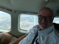2018 10 25 Flug ins Okawango Delta als UNESCO Weltnaturerbe