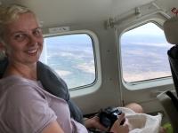 2018 10 25 Flug ins Okawango Delta mit toller Aussicht