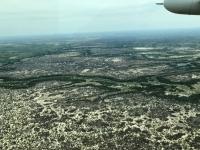 2018 10 25 Flug ins Okawango Delta