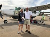 2018 10 25 Maun Flughafen vor Flug ins Okawango Delta
