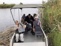 2018 10 25 Okawango Delta Fahrt ins Camp