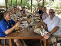 2018 10 25 Okawango Delta Mittagessen im Mopiri Camp