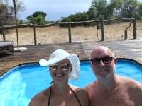 2018 10 25 Okawango Delta Relaxen im Pool