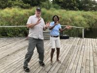 2018 10 25 Okawango Delta Verabschiedung von Vize Chefin