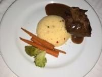 2018 10 26 Okawango Delta heute gibt es zum Abschied Beef Filet