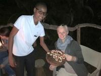 2018 10 26 Okawango Delta kleine Häppchen vor Abendessen