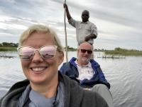 2018 10 26 Okawango Delta unser Guide Luis