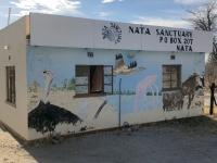 2018 10 27 Makgadikgade Salzpfanne Einfahrt Nata Sanctuary