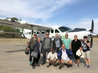 2018 10 27 Vor dem Abflug über das Okawango Delta