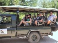 2018 10 28 Abfahrt in den Chobe Nationalpark vom Camp