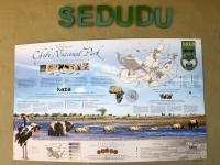 2018 10 28 Chobe Nationalpark Einfahrt beim  Sedudu Gate