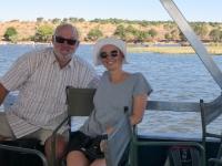 2018 10 28 Chobe Nationalpark los geht die Bootsfahrt