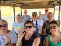 2018 10 28 Chobe Nationalpark mit unserer Jeep Besetzung