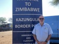 2018 10 29 Grenze Botswana Simbabwe erreicht