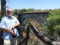 2018 10 29 Victoria Fälle Livingstone Brücke