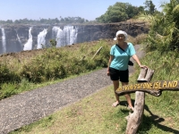 2018 10 29 Victoria Fälle Livingstone Island