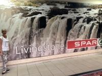 2018 10 30 Sambia Livingstone Spar Werbung