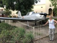 2018 10 30 Sambia Livingstone vor dem Livingstone Museum