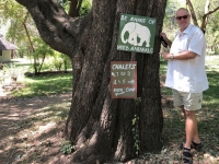 2018 10 30 Sambia Maramba Lodge Achtung gefährliche Tiere