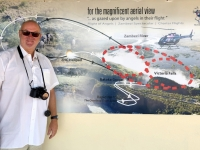 2018 10 30 Victoria Falls Plan für Rundflug