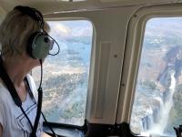 2018 10 30 Victoria Falls perfekt zu sehen die Fälle