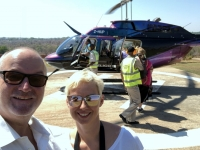 2018 10 30 Victoria Falls retour vom Rundflug