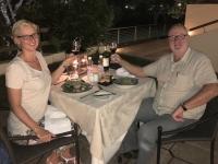 2018 10 31 Vicoria Falls letztes Abendessen in der Ilala Lodge