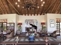 2018 10 31 Vicoria Falls wunderschön dekorierte Ilala Lodge