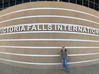 2018 11 01 Ankunft am Flughafen in Victoria Falls