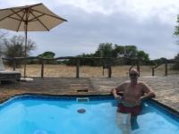 2018 10 25 Okawango Delta Pool im Mopiri Camp