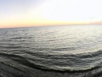2018 10 27 Makgadikgade Salzpfanne Sonnenuntergang mit 2 x  Stutz
