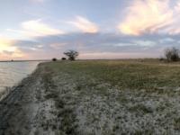 2018 10 27 Makgadikgade Salzpfanne beginnender Sonnenuntergang