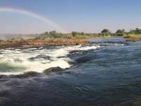 2018 10 31 Devils Pool Wasserentnahme aus den Viktoria Fällen