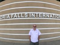 2018 11 01 Victoria Falls Ankunft am Flughafen
