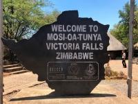 Unesco Simbabwe Victoria Fälle Tafel 1