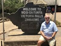 Unesco Simbabwe Victoria Fälle Tafel