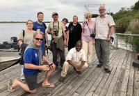 2018 10 25 Okawango Delta vor der Bootsfahrt