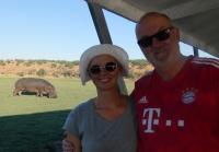 2018 10 28 Chobe Nationalpark Bootsfahrt und Flusspferden