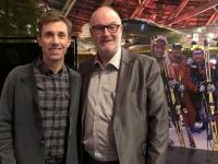 Brugger Christian Moderator bei Sport und Talk im Hangar 7 Salzburg