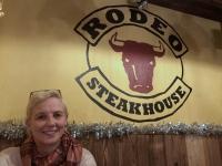 Abendessen im Steakhaus