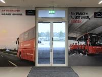 Allianz Arena Führung Ausgang zum Bus
