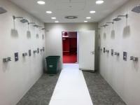 Allianz Arena Führung Dusche aus der Kabine