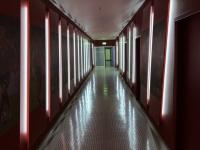 Allianz Arena Führung Gang in die Kabine